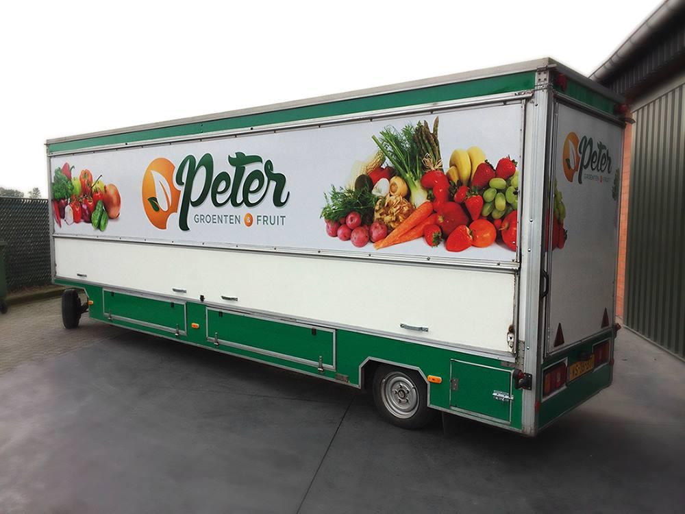 Marktkraam Peter groenten & fruit