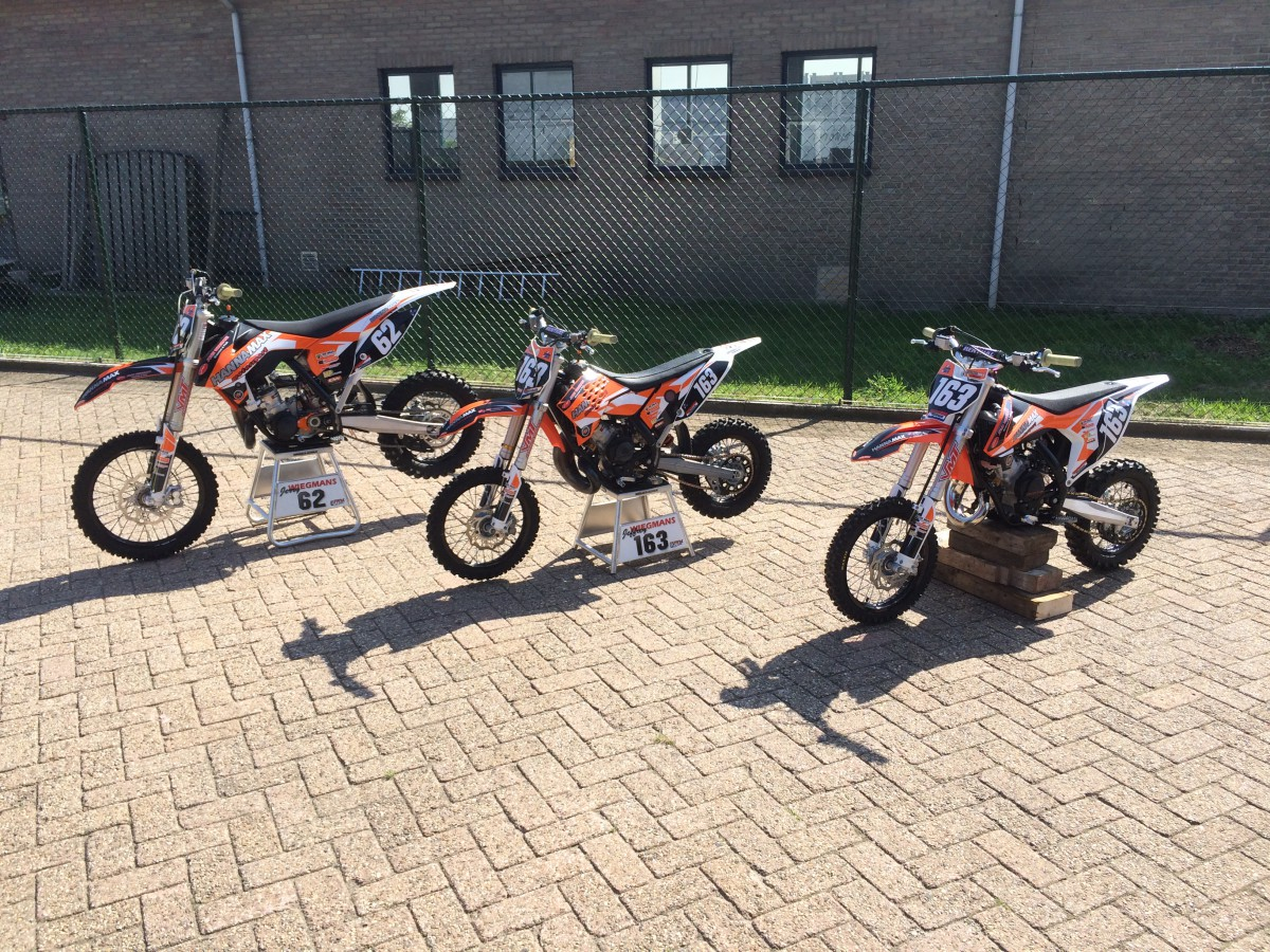 3X Ktm stickerset