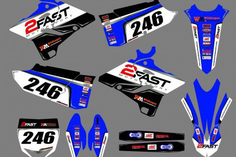 Mx Stickerset Yamaha