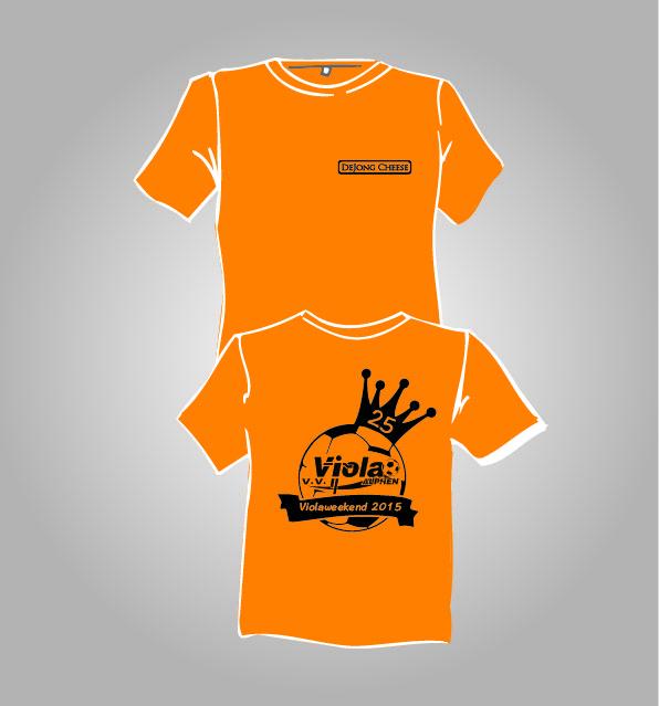 T-shirts voor v.v. Viola